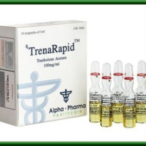 Buy TrenaRapid amp. (Tren Acetate) by Alpha-Pharma Healthcare in USA without a prescription